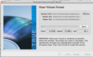 Outer Volume Format