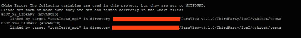 ParaView Compile Error